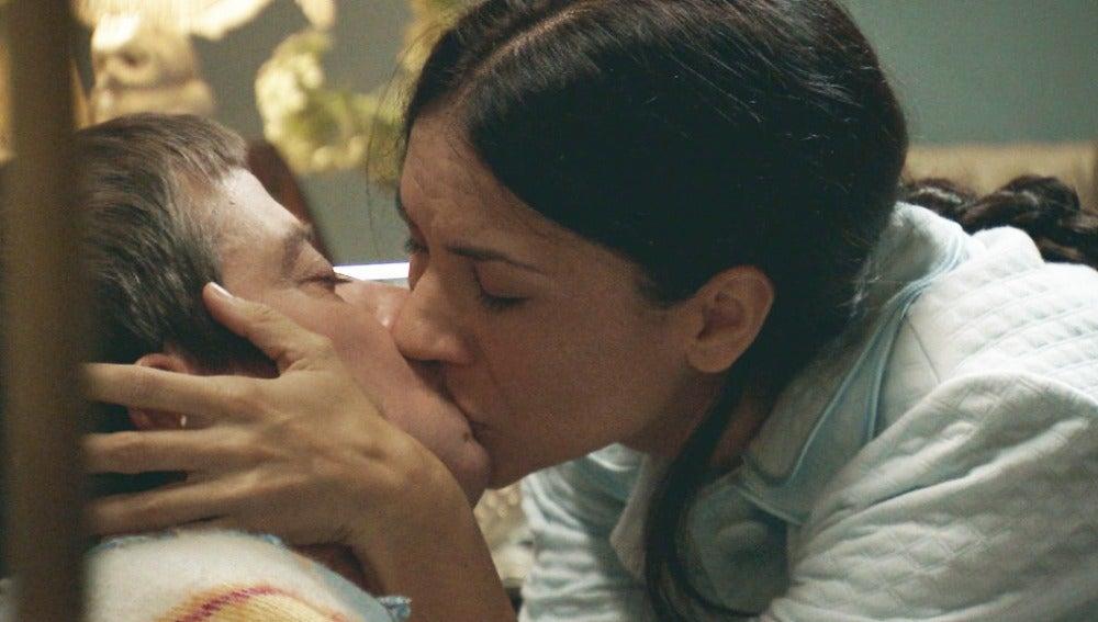 Marcelino y Manolita se reconcilian tras la pelea