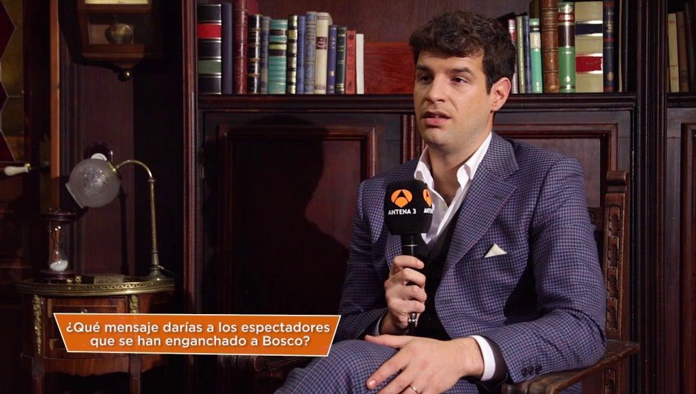 """Francisco Ortiz: """"Recuerdo con mucha emoción el primer   encuentro con Inés, fue muy bonito"""""""
