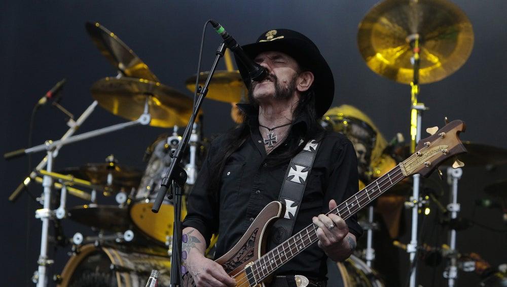 Lemmy Kilmister, el líder y cantante de Motörhead