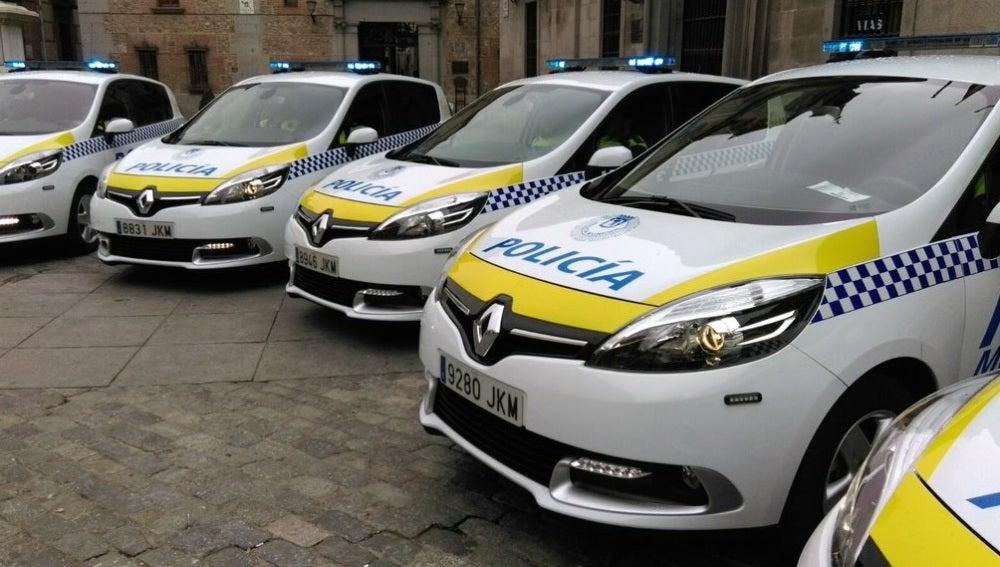 Coches de la Policía Municipal de Madrid