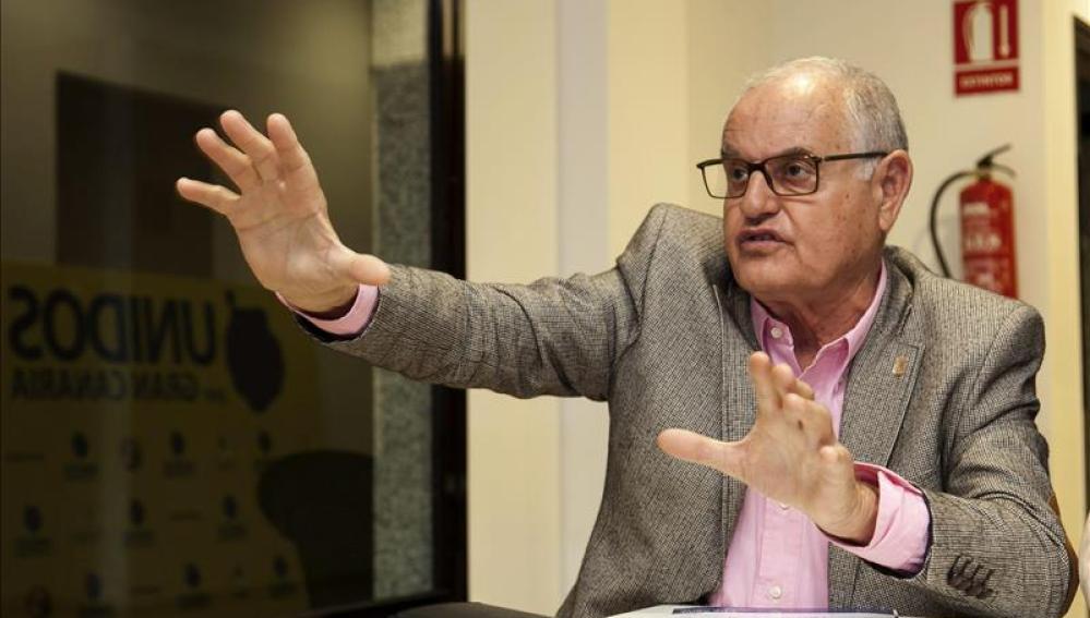 El Alcalde de La Oliva, Domingo González Arroyo