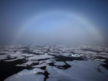 Imagen de archivo del Polo Norte