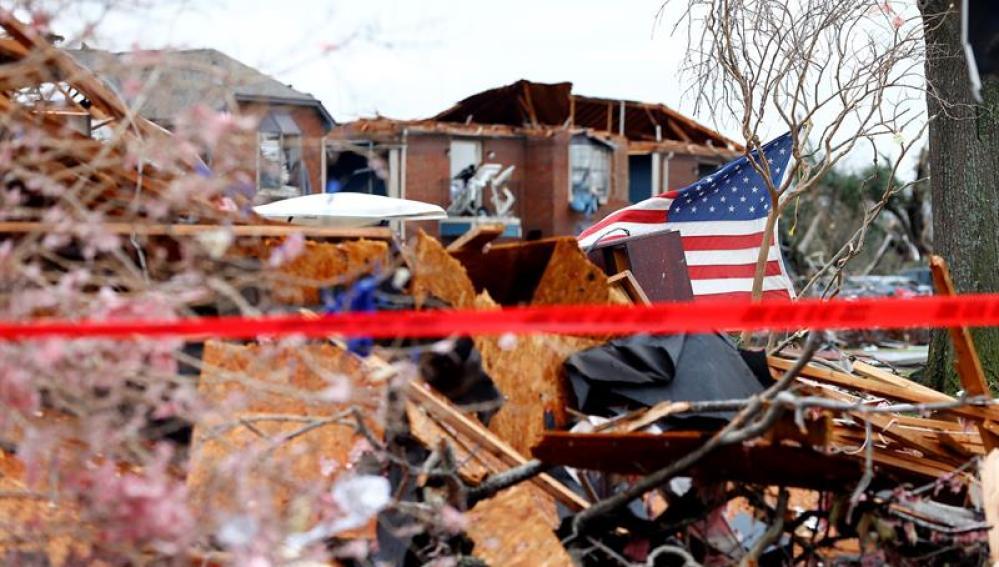 Una fuerte tormenta azota EEUU