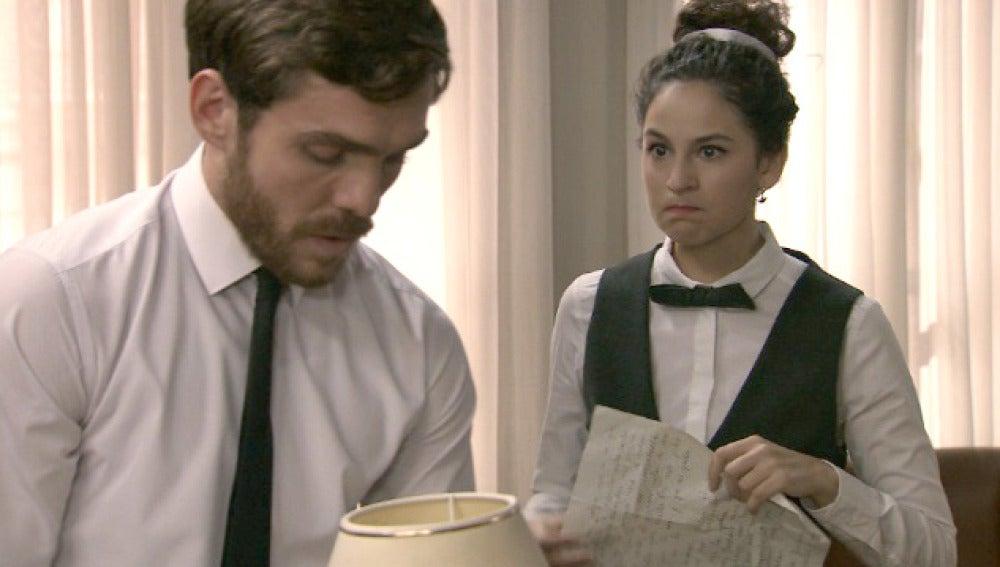 Carmen acusa a Toni de poner en peligro una   familia honrada