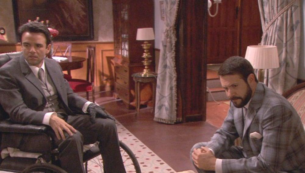 Severo y Carmelo idean un plan para deshacerse de Eliseo
