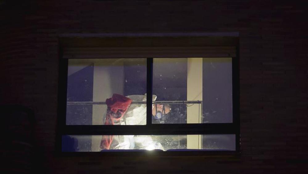 La Policía investiga el suceso en la vivienda de Girona