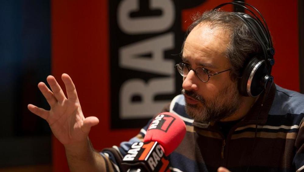 El exdirigente de la CUP Antonio Baños