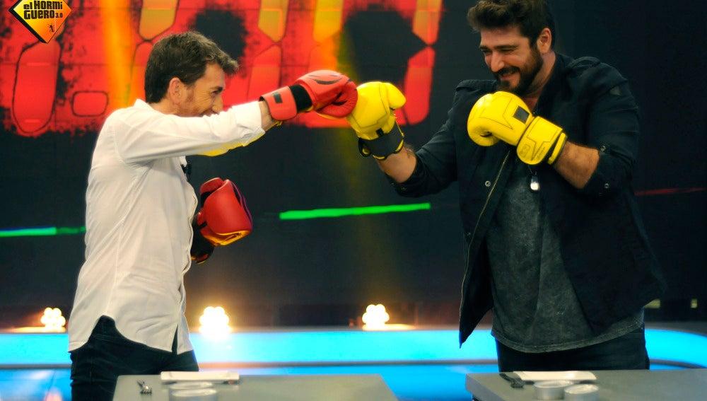 Campeonato mundial de berberecho con guante de boxeo