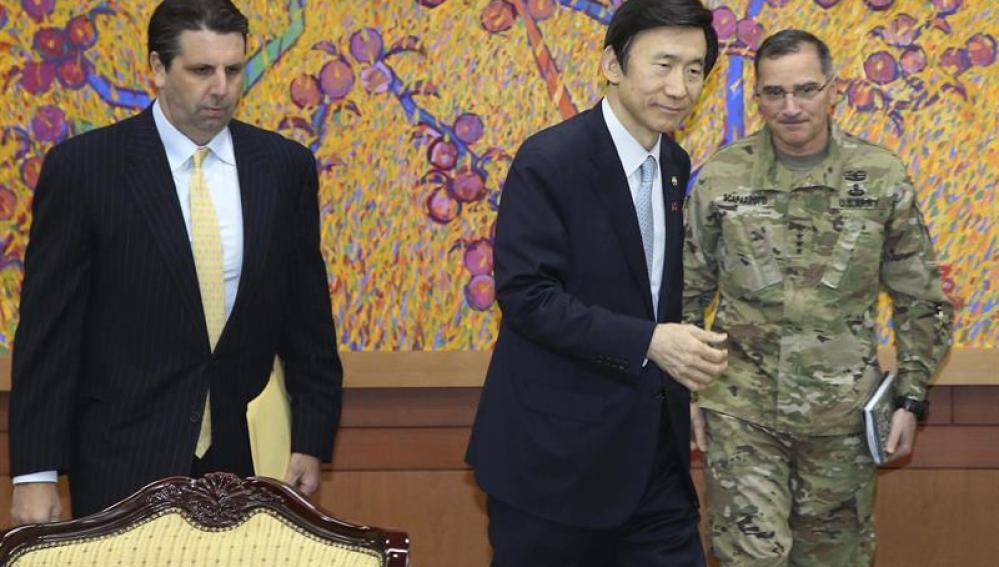 El ministro surcoreano de Exteriores, Yun Gyung-se