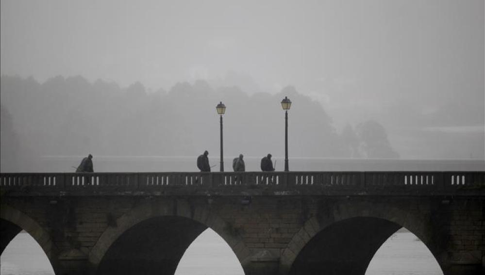 Las lluvias serán localmente fuertes en Galicia