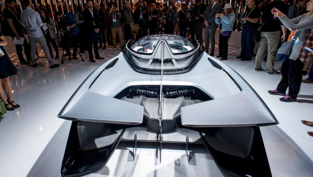 Vehículo electrónico The Faraday Future