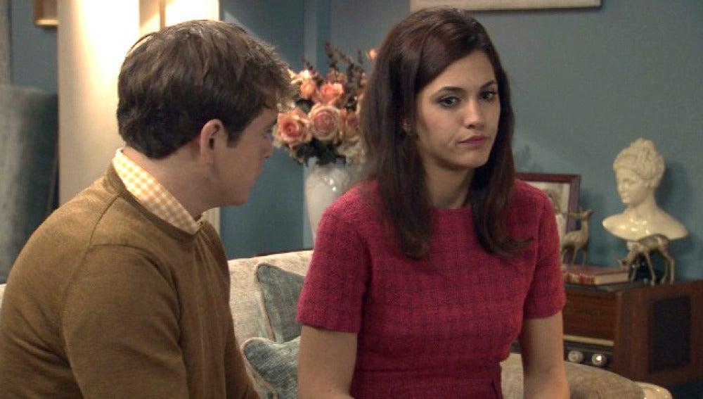 Sofía se muestra distante con Guillermo después   de su rechazo