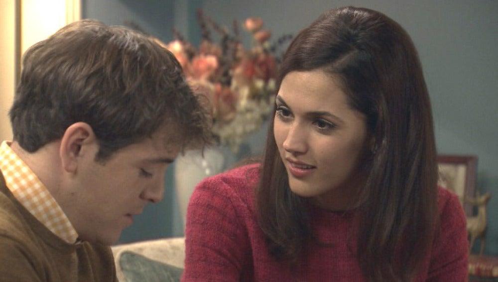 Guillermo le da explicaciones a Sofía por su   rechazo