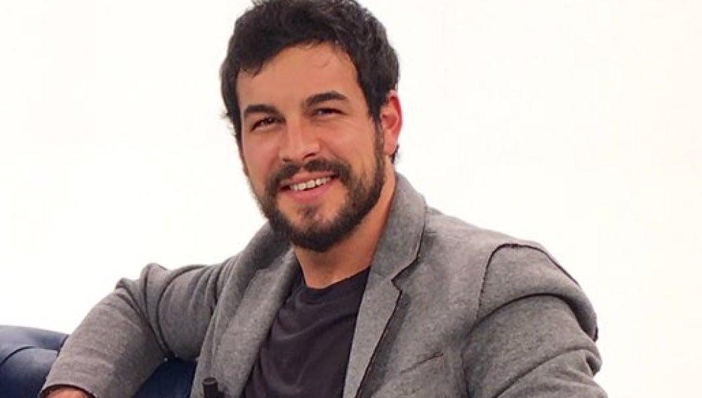 Mario Casas en el videoencuentro de 'Palmeras en la Nieve'