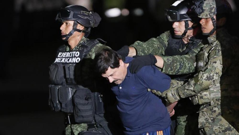 El narcotraficante Joaquín 'El Chapo' Guzmán