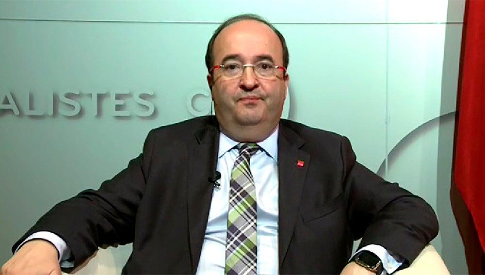 Miquel Iceta, representante del PSC
