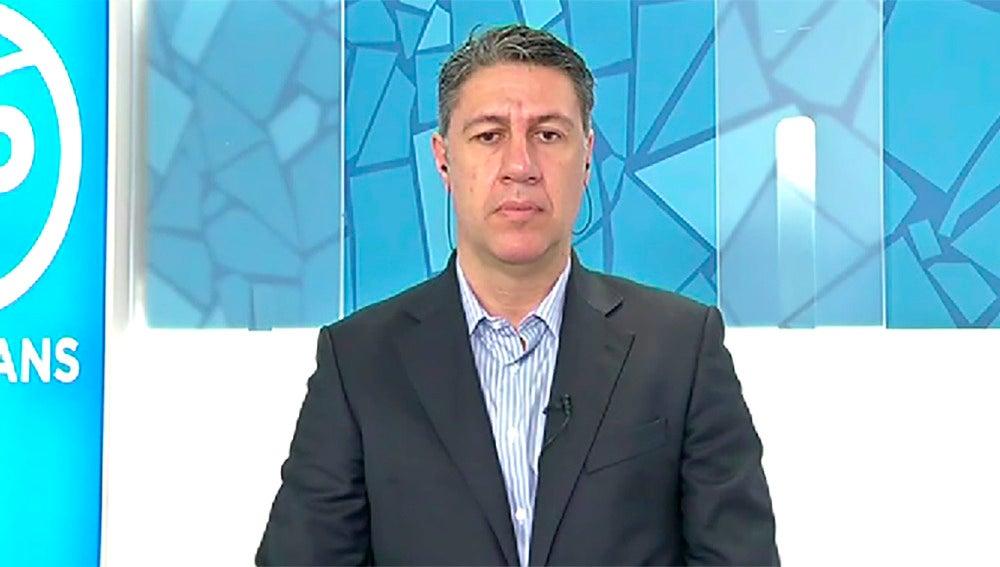 Xavier García Albiol, en la sede del PPC