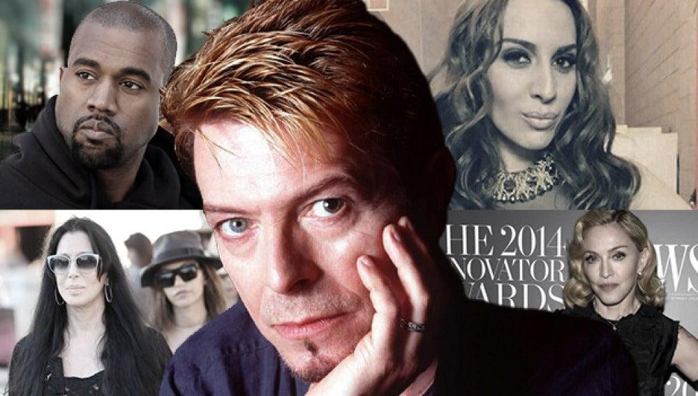 Los famosos lloran la muerte de David Bowie