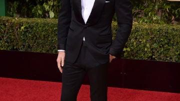 Michael Fassbender muy sonriente