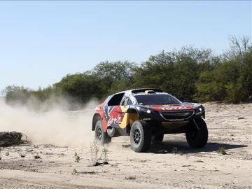 Stephane Peterhansel en el Dakar 2016