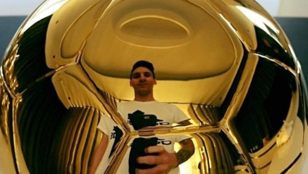 El Balón de Oro de Messi