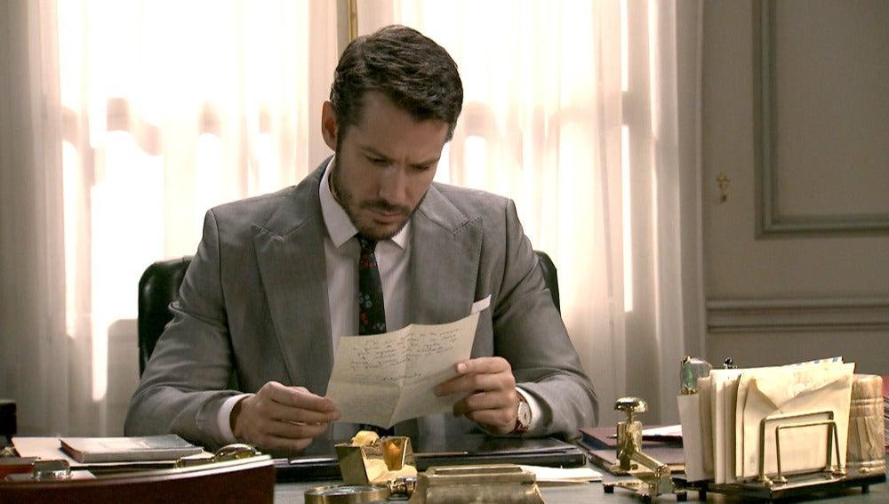 Miguel recibe una carta misteriosa desde México
