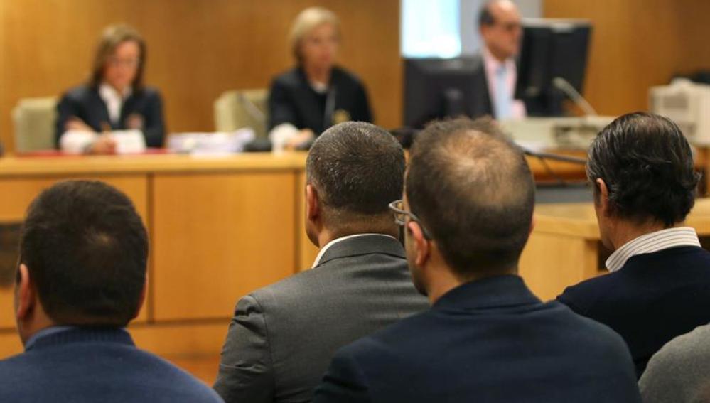 Miguel Ángel Flores en el juicio
