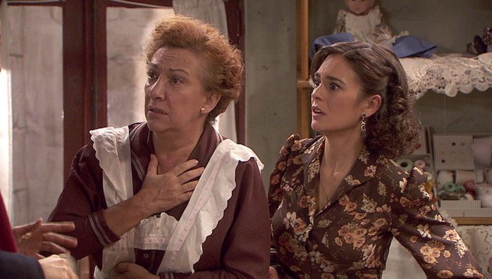 Dolores y Gracia están muy preocupadas por el atentado