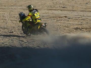 Stefan Svitko, en acción en el Dakar
