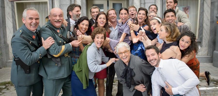 Antena 3 tv amar es para siempre cumple tres a os de - Antena 3 tv series amar es para siempre ...