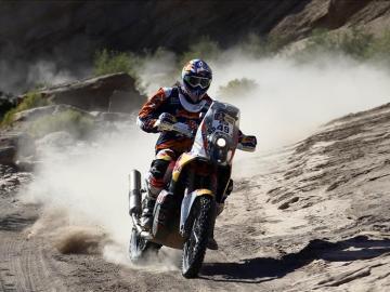Antoine Meo en el Dakar 2016