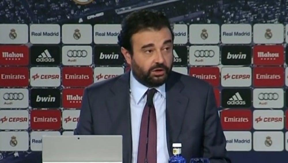José Ángel Sánchez, director deportivo del Real Madrid
