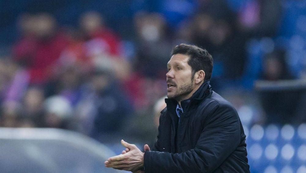 Simeone, en la banda del Calderón