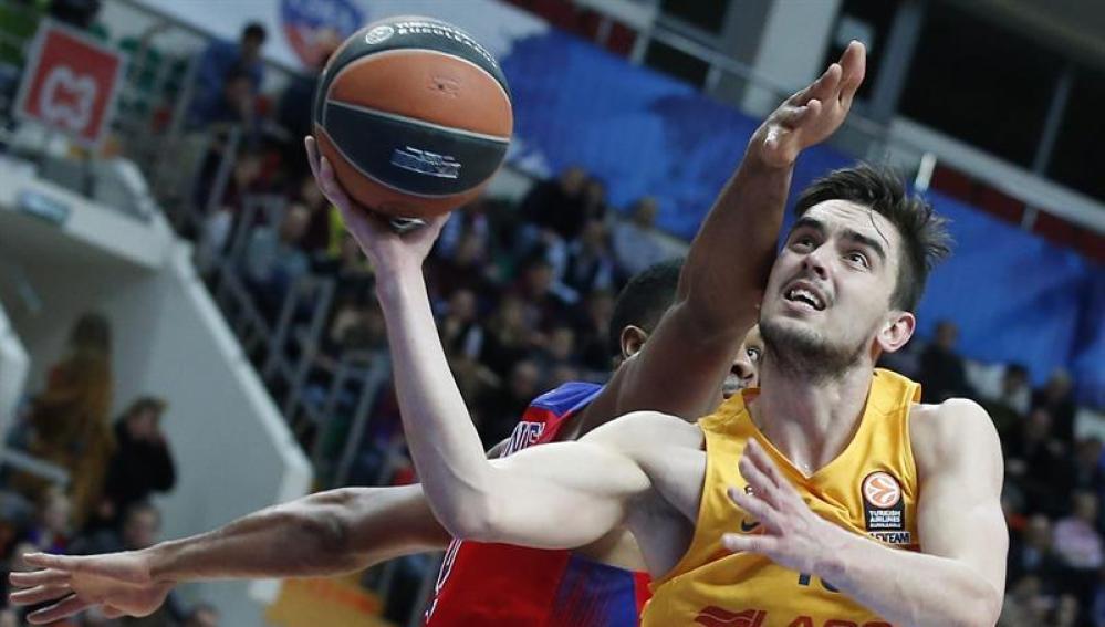 Encuentro CSKA - Barcelona Lassa en el Top 16 de la Euroliga