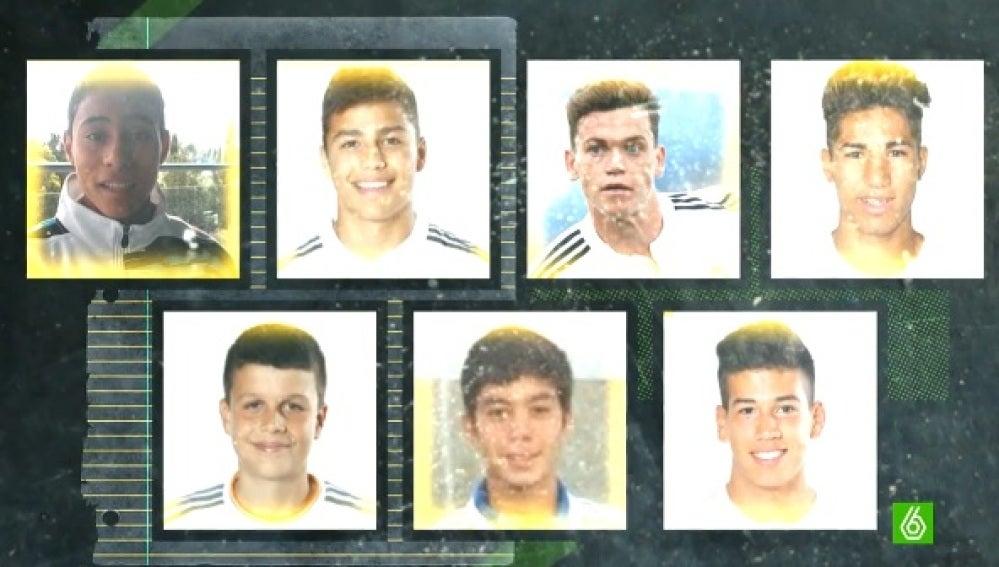 Jugadores por los que la FIFA ha sancionado al Real Madrid