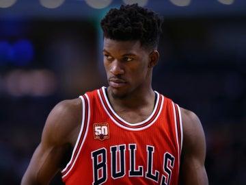 Jimmy Butler, durante un partido con los Chicago Bulls