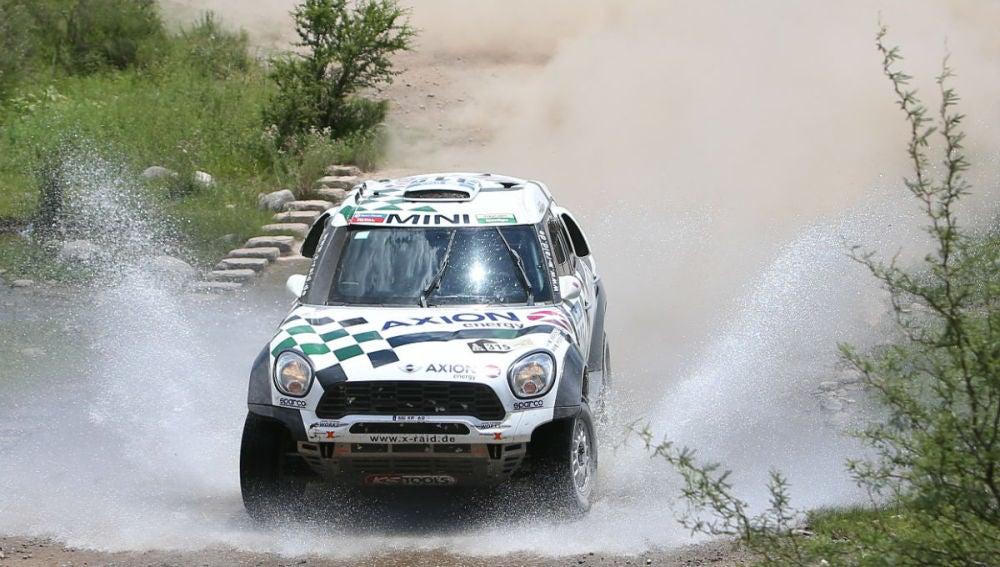 Mikko Hirvonen pilota su Mini