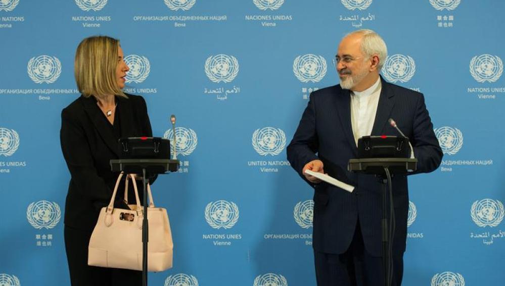Negociaciones de Irán con la UE