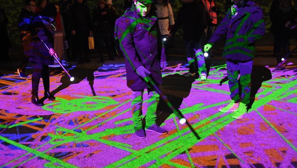 Festival de la luz Lumiere en Londres