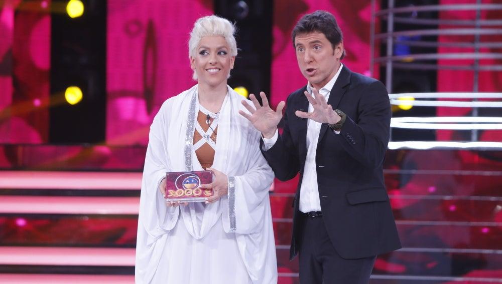 Ruth Lorenzo gana la primera semifinal de 'Tu cara me suena'
