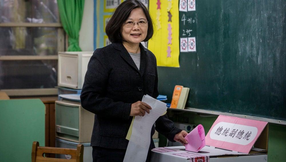 La nueva presidenta de Taiwán, Tsai Ing-wen