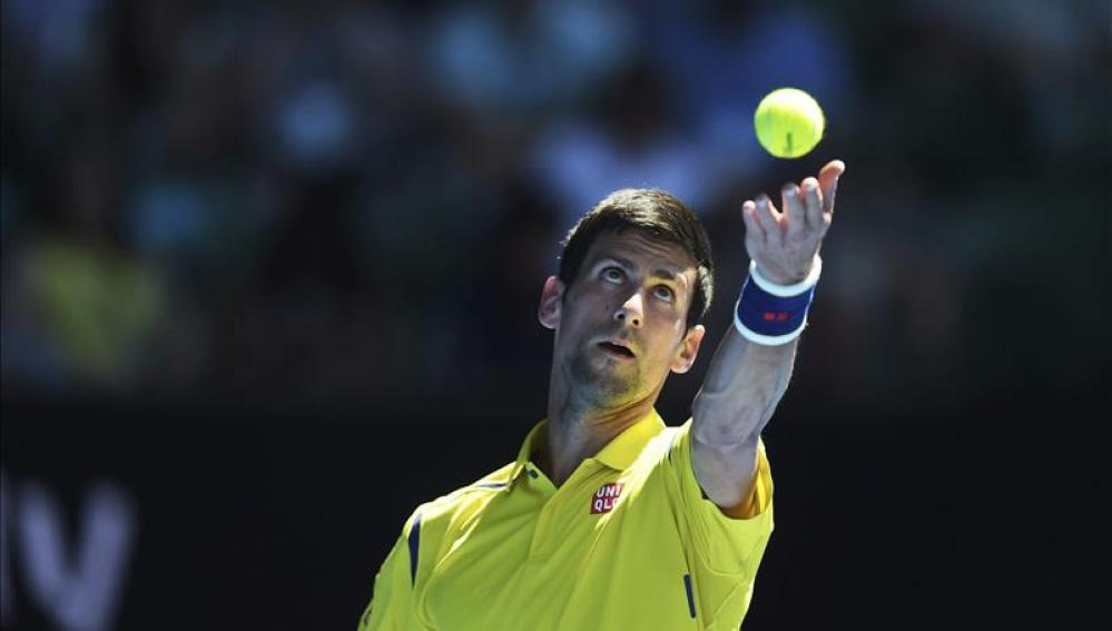 Djokovic vence en la primera ronda del Open de Australia al surcoreano Hyeon Chung