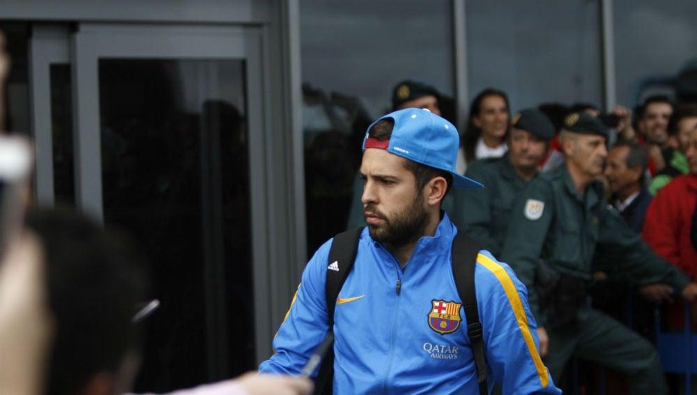 Jordi Alba, jugador del FC Barcelona