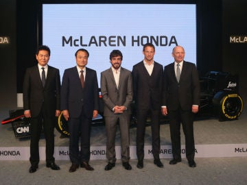 Presentación de McLaren del año pasado