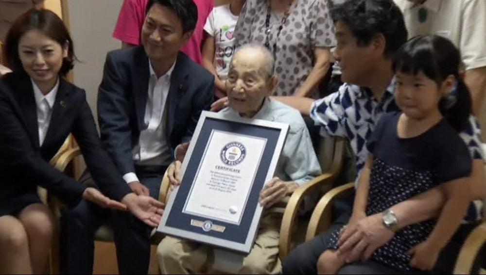 Yasutaro Koide, hombre más longevo del mundo fallecido