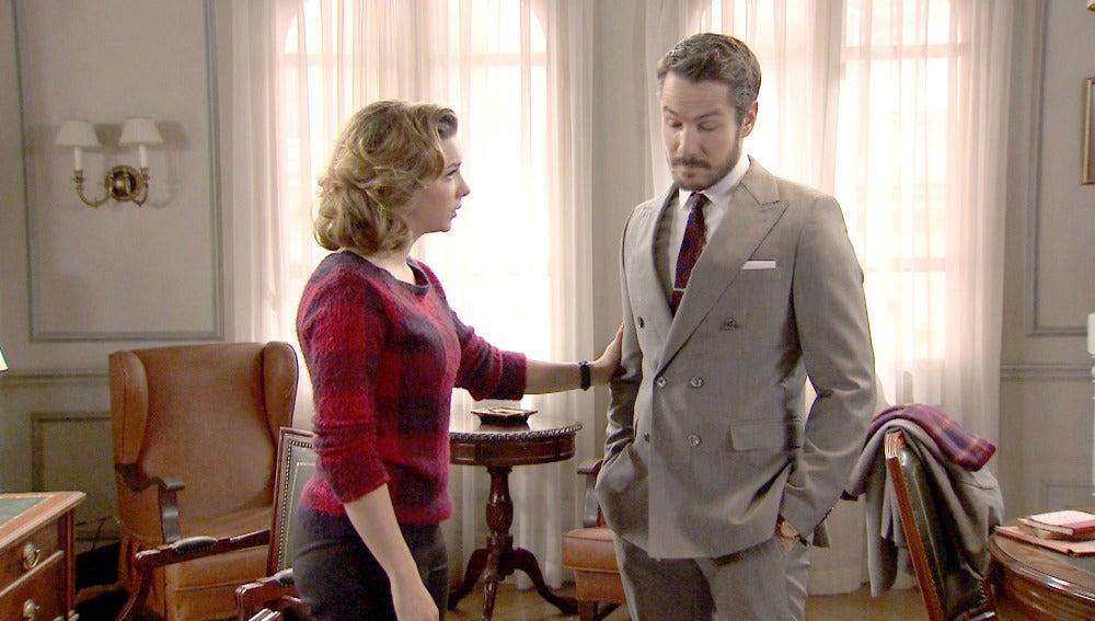 Leonor descubre que Parrado está detrás del engaño a Toni