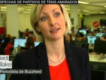 Heidi Blake, periodista de Buzzfeed