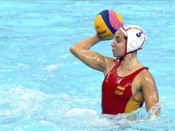 La jugadora española Anna Espar en acción