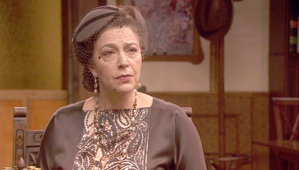 Francisca se presenta por sorpresa en la Quinta