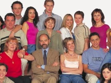 Los personajes de la serie 'Compañeros'